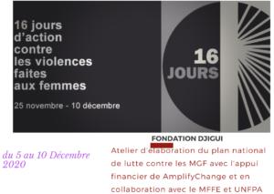 Dans le cadre des 16 jours d'activisme contre les violences basées sur le genre @ Dabou